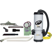 ProTeam® 10 Qt. MegaVac Backpack Vac w/Blower & 2 Hard Floor Brush Tools, Wand Kit - 105892