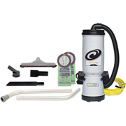 "ProTeam® 10 Qt. MegaVac Backpack Vac w/Blower Tool, 14"" Hard Floor Tool Kit - 105896"