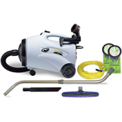 "ProTeam® 10 Qt. ProVac CN Canister Vac w/14"" Floor Tool, Telescoping Wand Kit - 107154"