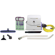"ProTeam® 6 Qt. Super HalfVac Pro Hip Vac w/14"" Floor Tool, 2 pc Wand Kit - 107327"