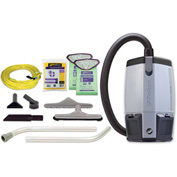 "ProTeam® 6 Qt. ProVac FS 6 Backpack Vac w/Restaurant Tools, 2 Pc. Wand Kit 56"" - 107363"