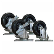 "Set of Four 4"" Heavy-Duty Casters CASTER-KIT-04"