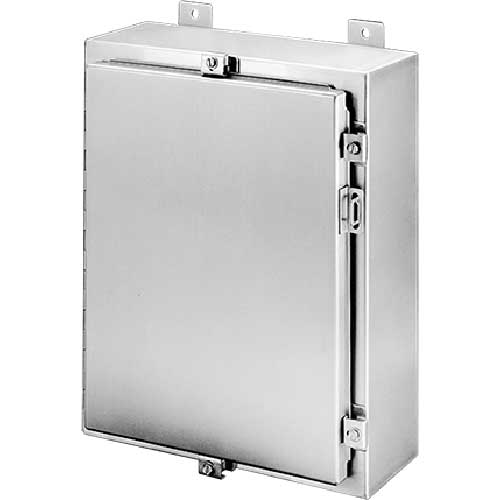 Hoffman A16H1206SSLP, Continuous Hinge W/Clamps, Type 4X, 16.00x12.00x6.00in, A16P12 Panel