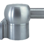 Hoffman CCSSWJ, Wall Joint, Horizontal, Fits 60.3Mm Tube, SS Type 304