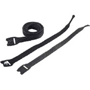 Hoffman ECW8B VELCRO®Brand Cable Wrap, Black, 8 in, VELCRO®Brand
