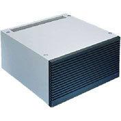 Hoffman PAC216T66 Air Cond.Top, 2400 BTU / 115v, Fits 600x60, Steel/LtGray