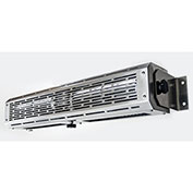 24 Inch PTW Series Drive Thru Air Curtain,120V, Unheated Stainless Steel