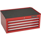 "Proto J442710-4RD-IC 440SS Intermediate Chest - 4 Drawer Red 27""L X 10""H X 18""D"