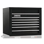"Proto J453427-6BK 450HS 34"" Top Chest - 6 Drawer, Black, 34""L X 27""H X 25""D"