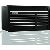"Proto J455027-10BK 450HS 50"" Top Chest - 10 Drawer, Black, 50""L X 27""H X 25""D"