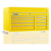 "Proto J455027-10YL 450HS 50"" Top Chest - 10 Drawer, Yellow, 50""L X 27""H X 25""D"