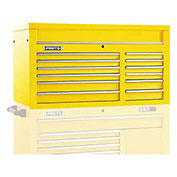 "Proto J455027-12YL 450HS 50"" Top Chest - 12 Drawer, Yellow, 50""L X 27""H X 25""D"