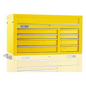 "Proto J455027-8YL 450HS 50"" Top Chest - 8 Drawer, Yellow, 50""L X 27""H X 25""D"
