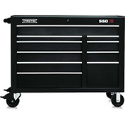 "Proto J455041-10BK 450HS 50"" Workstation - 10 Drawer, Black, 50""L X 41""H X 25""D"