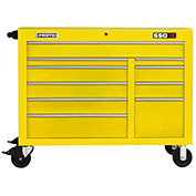 "Proto J455041-10YL 450HS 50"" Workstation - 10 Drawer, Yellow, 50""L X 41""H X 25""D"