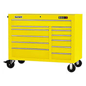 "Proto J455041-12YL 450HS 50"" Workstation - 12 Drawer, Yellow, 50""L X 41""H X 25""D"