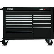 "Proto J455743-13BK 450HS 57"" Workstation - 13 Drawer, Black, 57""L X 43""H X 25""D"