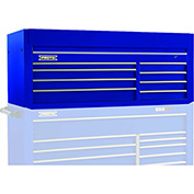 "Proto J456627-8BL 450HS 66"" Top Chest - 8 Drawer, Blue, 66""L X 27""H X 27""D"