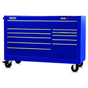 "Proto J456646-11BL 450HS 66"" Workstation - 11 Drawer, Blue, 66""L X 46""H X 27""D"