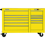 "Proto J456646-11YL 450HS 66"" Workstation - 11 Drawer, Yellow, 66""L X 46""H X 27""D"