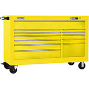 "Proto J456646-12YL 450HS 66"" Workstation - 12 Drawer, Yellow, 66""L X 46""H X 27""D"