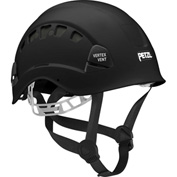 Petzl® Vertex® Vent Work & Rescue Helmet, ABS, Black, ANSI Class C