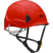 Petzl® Alveo® Best Work & Resue Helmet, ABS, Red, ANSI Class E