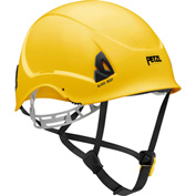 Petzl® Alveo® Best Work & Resue Helmet, ABS, Yellow, ANSI Class E