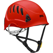 Petzl® Alveo® Vent Work & Resue Helmet, ABS, Red, ANSI Class C