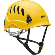 Petzl® Alveo® Vent Work & Resue Helmet, ABS, Yellow, ANSI Class C