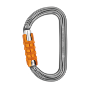 Petzl® AM'D Triact-Lock Carabiner, Aluminum, Gray