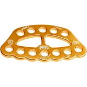 Petzl® Paw Rigging Plate, Aluminum, Large, Gold