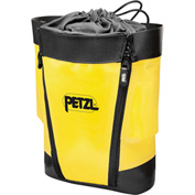 Petzl® Toolbag, Polyester/Polyurethane, Yellow/Black, Large