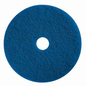 "Boss Cleaning Equipment 17"" Blue Pad - Pkg Qty 5"
