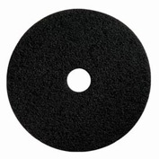 "Boss Cleaning Equipment 20"" Black-Strip Pad - Pkg Qty 5"