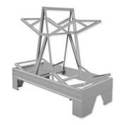 Pucel™ 85 Drum Storage Rack - Gray