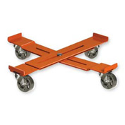 Pucel™ AD-23 Adjustable Drum Dolly Steel Casters - 23-1/2 to 36-1/2