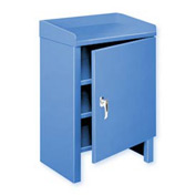 "Heavy Duty Cabinet Shop Bench - 24""W x 19""D Blue"