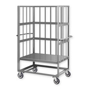 Pucel™ CST-24 Steel Cage Stock Truck 1000 Lb Capacity