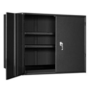 "Extra Heavy Duty Storage Cabinet - 36""W x 24""D x 48""H Black"
