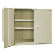"Extra Heavy Duty Storage Cabinet - 48""W x 19""D x 48""H Putty"