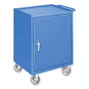 Mobile Drawer Bench - 1 Cabinet Blue