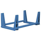 "Twin Rack U-Frame - 44""W Blue"