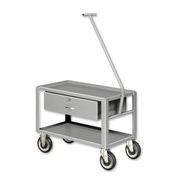 Pucel™ SER-101 Low Profile Pull Cart with Steel Casters