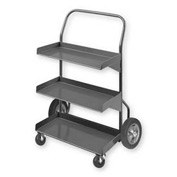 Pucel™ TPH-24 Tote Pan Steel Stock Cart 375 Lb. Capacity