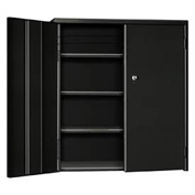 "Pucel Wall & Bench Cabinet WBC-2621 - 26-1/2""W x 9""D x  21""H, Black"
