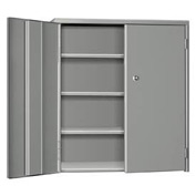 "Pucel Wall & Bench Cabinet WBC-2621 - 26-1/2""W x 9""D x  21""H, Gray"