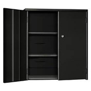 "Pucel Wall & Bench Cabinet WBC-2630 - 26-1/2""W x 9""D x  30""H, Black"