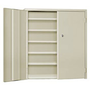 "Pucel Wall & Bench Cabinet WBC-2630 - 26-1/2""W x 9""D x  30""H, Putty"