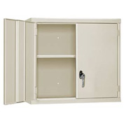 "Pucel Wall Cabinet WC-4827  - 48""W x 14""D x 27""H, Putty"